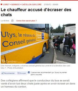 Article de la RP.fr du 27 septembre 2013  relatant cet événement..
