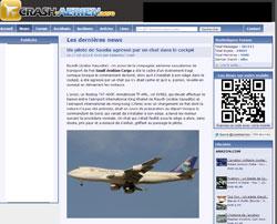 La une de Crash-Aerien-Aero