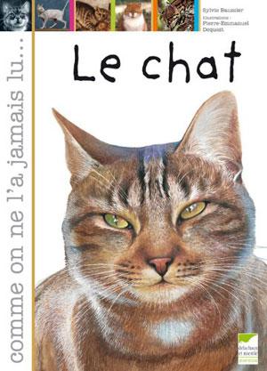 couverture de Le chat comme on ne l'a jamais lu par Sylvie Baussier