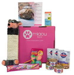 Miaou Box le coffret cadeau pour le chat fait il vraiment