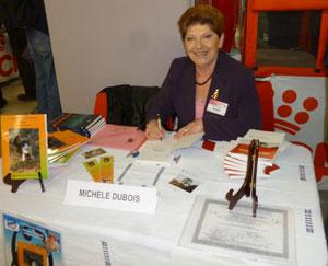Michèle Dubois au Salon des Chiens et des chats 2014 de l'Espace Champerret .