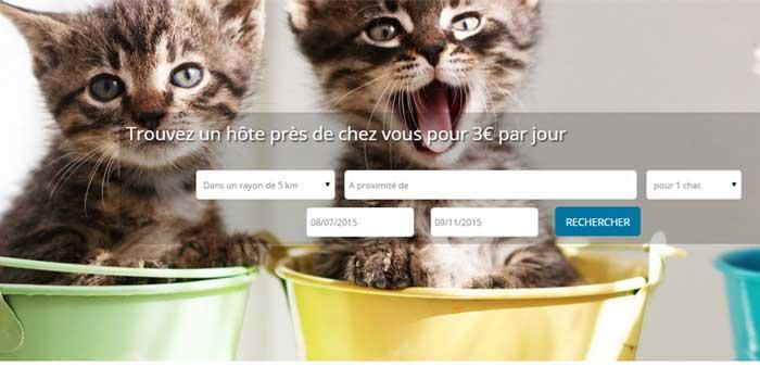 Copie d'écran du site Pretemoitonchat.com