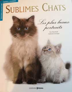 « Sublimes chats » chez Prisma édition 2013  d'Eric Planchard  et de Catherine Leveque