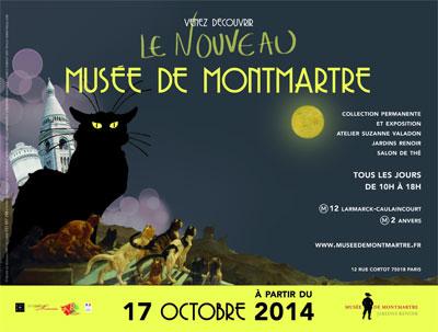 Affiche du musée de Montmartre