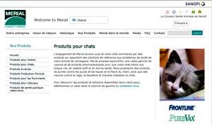 Bientôt un traitement antiparasitaire préventif et curatif à large spectre pour les chats par Merial