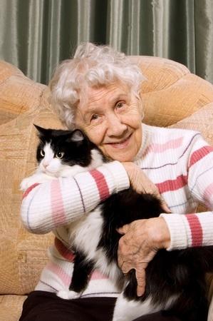 Un chat conquiert les résidents d'une EHPAD