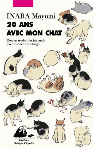 Couverture  de 20 ans avec mon chat de Inaba Mayumi aux éditions Philippe Picquier