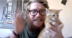 Le chat utilisé pour relancer les émissions les plus débiles de téléréalité !