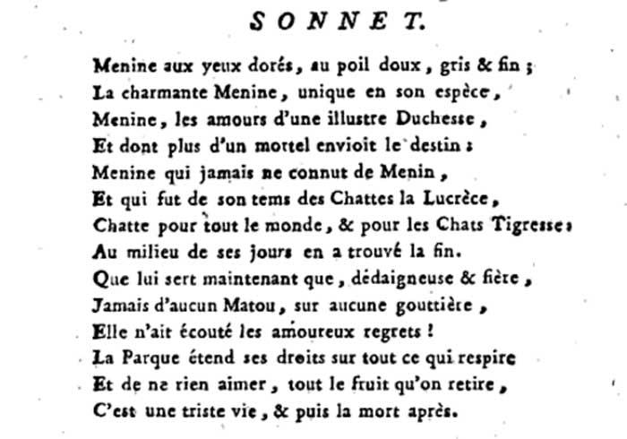 Sonnet à Menine... Décryptage...