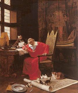 Les quatorze chats du cardinal de Richelieu ...