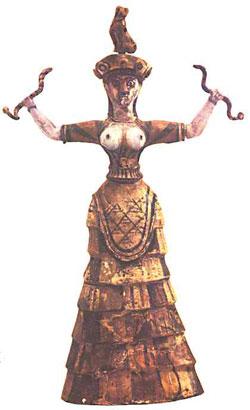 Le chat de la déesse serpent de Knossos, un mystère vieux de prés 4000 ans résolu par Micetto…